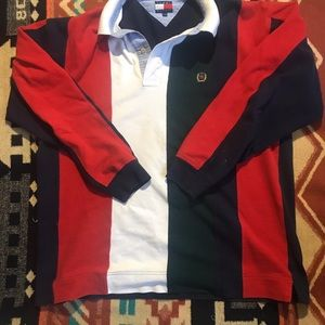 Vintage Tommy Hilfiger Long Sleeve Polo